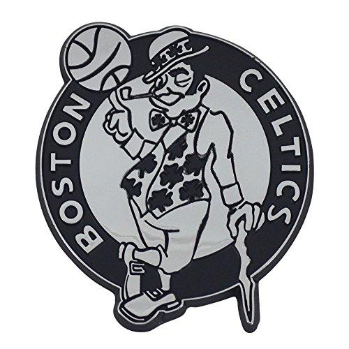 FANMATS 14840 NBA Boston Celtics Chrome Team Emblem, Silver, 3'x3'