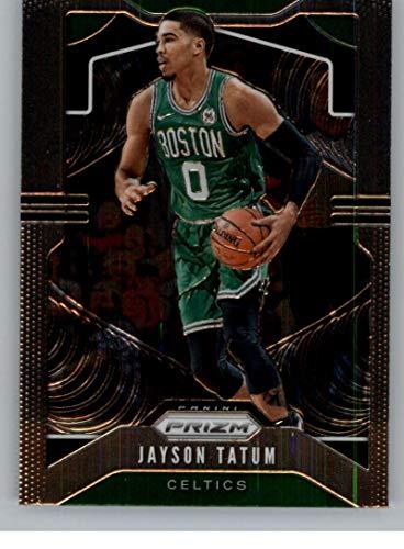 2019-20 Prizm NBA #39 Jayson Tatum Boston Celtics Official Panini Basketball Trading Card