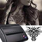 Funwill Machine de transfert de tatouage thermique Kit de tatouage Stencil Copieur de transfert Imprimante Thermoprinter pour les tatouages temporaires