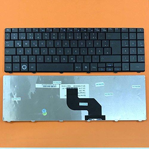 THT Protek DEUTSCHE - Schwarz Tastatur Version 1 komp. für Packard Bell EasyNote LJ71, LJ75
