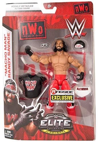 Ringside NWO Wolfpac Macho Man Randy Savage - WWE Elite Exclusive Mattel Toy Wrestling Action Figure