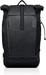 "Lenovo Carrying Case (Backpack) for 15.6"" Notebook - Black - Weather Proof - 420D Ripstop Exterior, Thermoplastic Elastomer (TPE) - Shoulder Strap - 18.9"" Height x 11.8"" Width x 7.5"