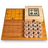 Massivholz-Schach-Set verdicken Eucalyptus Schach Leder Platte Pine Chess Box Nan Bambus-Platte -