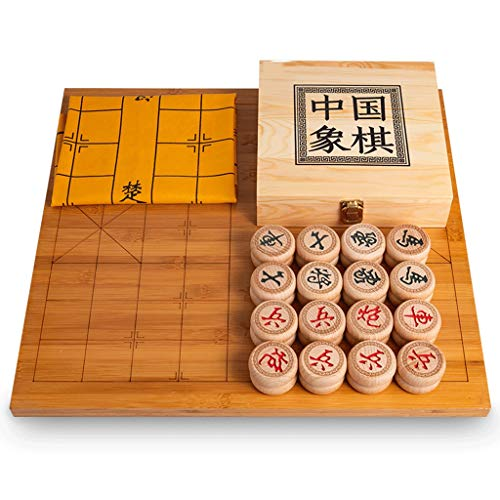 Massivholz Schach Set verdicken