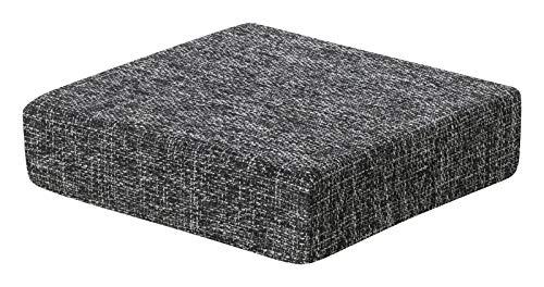 Schwar Textilien Kissen Sitzblock Bodenkissen Stuhlkissen Sitzerhöhung orthopädisch Trend 6 Farben (anthrazit)