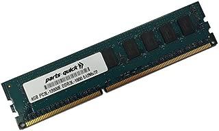 4GB Memory for Quanta STRATOS Motherboard S210-MBT2W DDR3L-1600MHz PC3L-12800E ECC UDIMM (PARTS-QUICK BRAND)