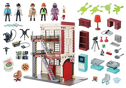 Quartier Général Ghostbusters Caserne de Pompier Playmobil - 9219 - 7
