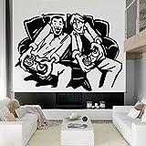 wZUN Etiqueta de la Pared del Juego Controlador de Videojuego Seleccionar Arma calcomanía de Pared Vinilo Dormitorio decoración de la Sala de Juegos 51X37cm