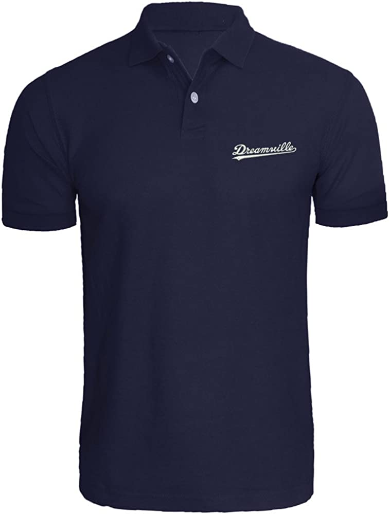 Max 87% OFF Mens Dreamville Records In stock Music Fans Shirts T Polo Men Embroidered