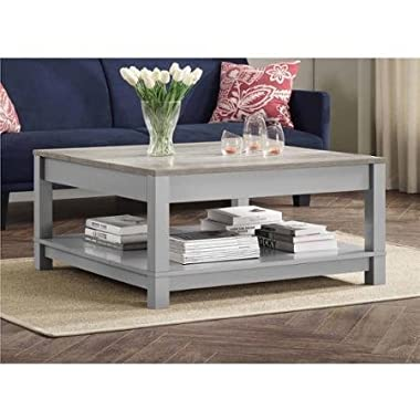 Better Homes and Gardens Langley Bay Coffee Table, Gray/Sonoma Oak