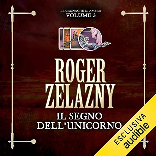 Il segno dell'Unicorno audiobook cover art