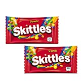 Skittles Fruits Sweets Imported,45g (Pack of 2)