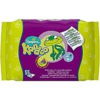 Kandoo - Recambio de toallitas húmedas con aroma de melón–Pack de 12, total de 660toallitas