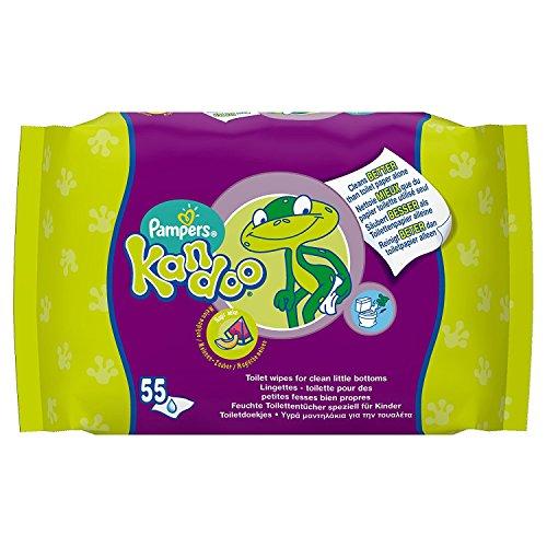 Kandoo - Recambio de toallitas húmedas con aroma de melón–Pack de...