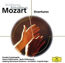 Mozart: Overtures by Mozarteum-Orchester Salzburg [Orchestra] (2008-05-21)