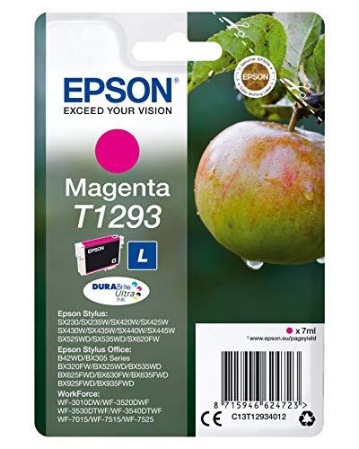 Epson Cartuccia Inchiostro Magenta Tg.L Mela, con Amazon Dash Replenishment Ready