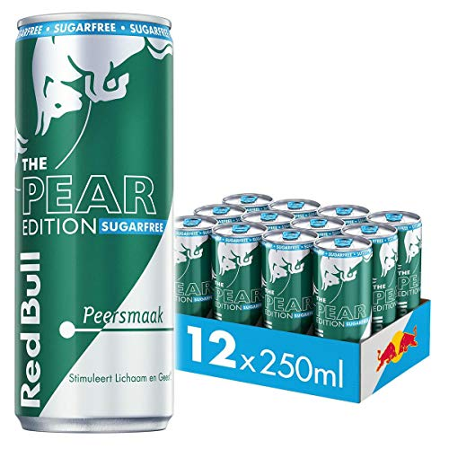 Red Bull Energy Drink, SF Pear Edition, 250ML (12-pack) 3,33 kg