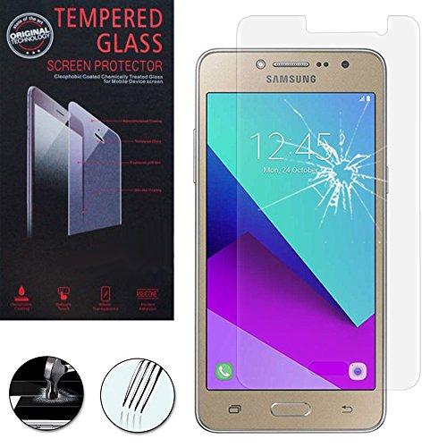 ANNART® [1 Pièce Film Protection écran en Verre trempé pour Samsung Galaxy Grand Prime Plus/J2 Prime - Transparent