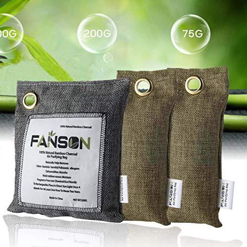 FANSON『竹炭空気清浄バッグ』