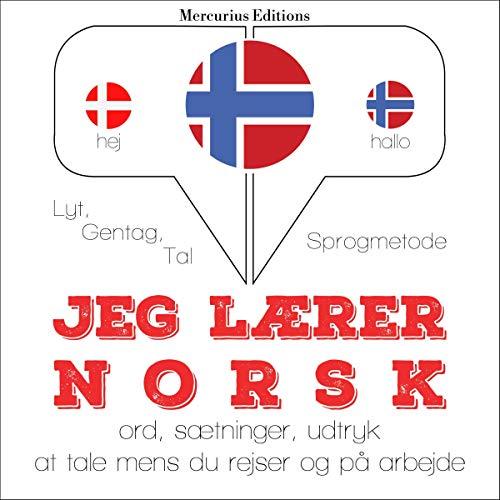 Jeg lærer norsk audiobook cover art