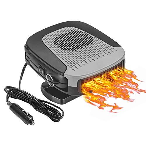 2 In 1 Automobile Windscreen Fan Auto Ceramic Heater
