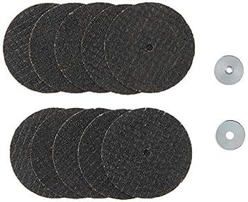 Dremel 456 1-1/2  Reinforced Rotary Tool Cut-Off Wheel - 10 Pack Gray