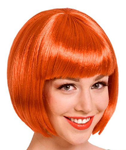 Folat 26833 – Perruque – Taille Unique – Orange Brûlé