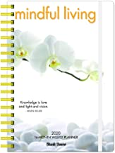 Mindful Living 2020 6.9 x 9.8 Inch Weekly Karma Planner by Brush Dance, Art Quotes Photography Inspiration