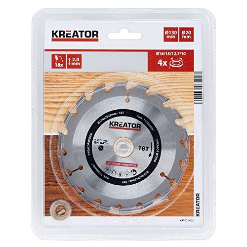 KREATOR KRT020402 KRT020402-Disco von Sierra Madera 130 mm18d
