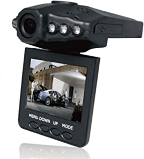 """YP Select F198 Car Dash Dvr With Night Vision, Microphone Built In, 2.5"""" Rotatable"""