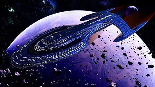 72Tdfc - DIY Dekoration,3D Puzzle 1000 Pieces - Star Trek Filmplakat - DIY Spielzeug Für Kreative Geschenke Collectibles Moderne Wohnkultur XXL