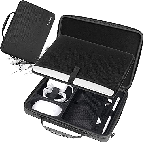 Smatree 13,3 Zoll Laptoptasche Harte Tasche für ASUS ZenBook Flip 13, Dell XPS 13, HP Spectre 13 x360, Razer Blade Stealth 13, Samsung Galaxy Book Flex 2/ Book S Hülle, 13,3 Zoll Notebook Koffer