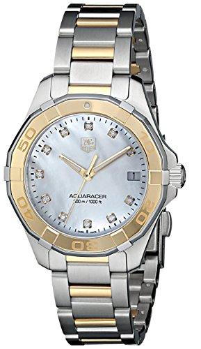 TAG HEUER AQUARACER WAY1351.BD0917 - Reloj de cuarzo para mujer (32 mm)