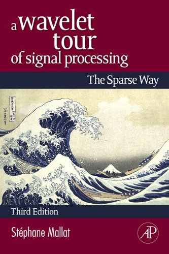 A Wavelet Tour of Signal Processing: The Sparse Way (English Edition)