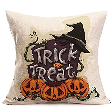 Luca Pillow Case Cover Up For Happy Halloween (D)