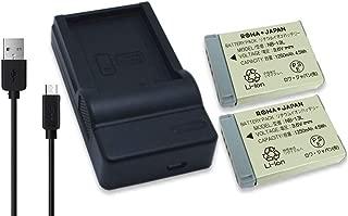 【日本規制検査済み】【輸入元ロワジャパンPSEマーク付】CANON キャノン PowerShot G7 X G9 X の NB-13L 互換 バッテリー と USB充電器 セット 【実容量高】【2個セット】【カバー付】