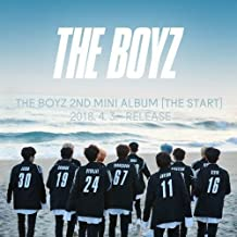 THE BOYZ [THE START] 2nd Mini Album B/C 2 Ver. SET+POSTER+P.Books+Cards+Stickers+Tracking Number K-POP SEALE