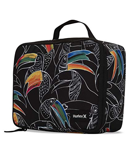 Hurley One&Only Printed Lunch Kit Sacs Homme Black FR: Taille Unique (Taille Fabricant: 1Size)