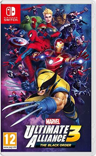 Marvel Ultimate Alliance 3 è action RPG - esclusiva Nintendo Switch giocabile in modalità tv, portatile e tabletop L'obiettivo sarà quello di impedire a Thanos e il suo Black Order di conquistare la galassia e scatenare il caos Giocabile in Multiplay...