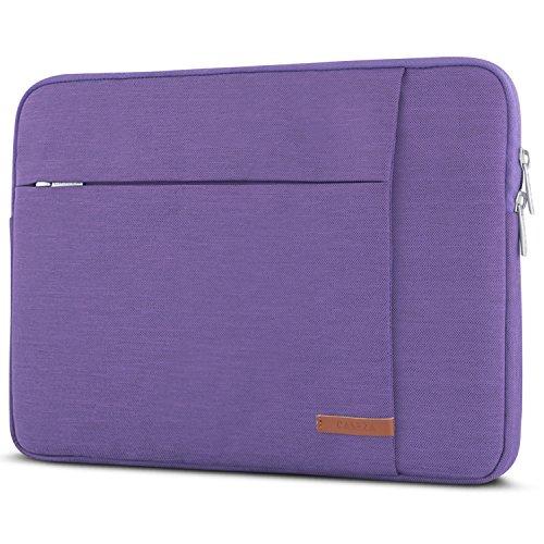 CASEZA Laptophülle 14 Zoll Lila - Laptoptasche London Laptop Sleeve Schutzhülle für 14 Zoll Laptops, das MacBook Pro 16 & Dell XPS 15 - Hülle Notebook Tasche Wasserfest mit 2 Seitentaschen