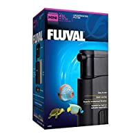 Fluval U Mini Underwater Filter provides simple yet efficient filtration that helps create excellent aquarium water quality. The filter's small size makes it ideal for application in small fresh or tropical aquariums up to 45 L. The filter's small si...