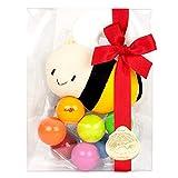 出産祝い ベビーギフト granpapa(グランパパ) 手あそびの木のおもちゃとハチさんの布ラトル ギフトセット