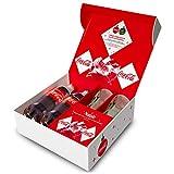 Coca-Cola Christmas Box (idea regalo con pack di Natale Coca-Cola e con bicchieri Coca-Cola)