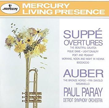 Suppé: Overtures / Auber: The Bronze Horse, etc.