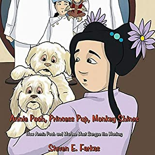 Annie Pooh, Princess Pup, Monkey Shines cover art