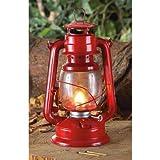 Red Hurricane Camping Kerosene Lantern