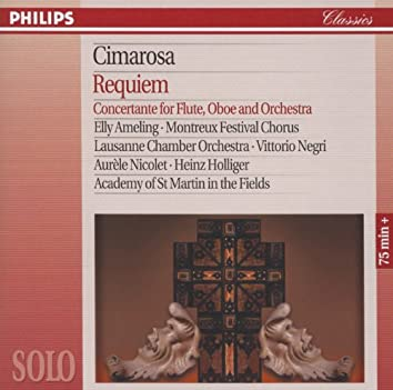Cimarosa: Requiem; Concertante for Flute, Oboe & Orchestra