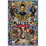 TanjunArt Narcos México Temporada Serie de TV Lienzo Pintura póster Impresiones hogar Pared Arte Sala de Estar decoración del hogar -50x70cm sin Marco