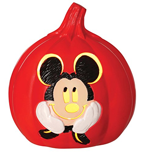 Disney Mickey Mouse Light up Red Pumpkin