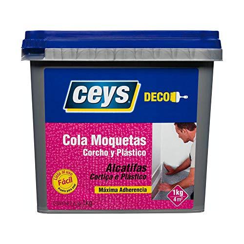 CEYS CE504712 Cola Corcho,MOQUETA,PLASTICO 1 KG